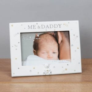 Bambino Resin 'Me & Daddy' Photo Frame
