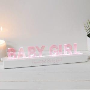 LED baby girl