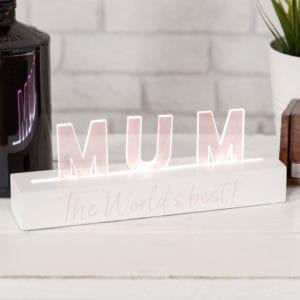 LED best mum in the world