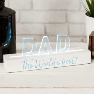 LED Best dad i nthe world