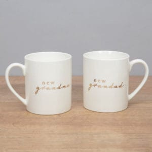 new grandma grandad mug set