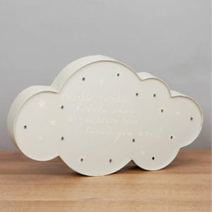 LED cloud baby light