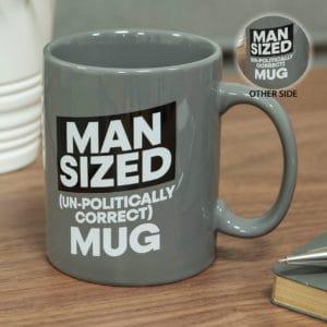 """extra large """"man size"""" mug"""