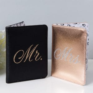 mr and mrs passport cover