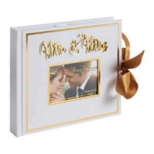 mr and mrs wedding album