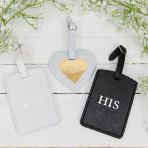 His, Hers and Ours Luggage Tag