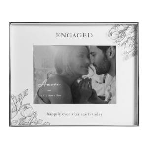 Engaged Happily Ever After Photo Frame