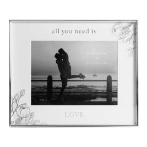 """All You Need Is Love"" Photo Frame"