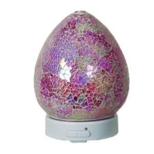 pink crackle ultrasonic diffuser