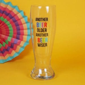 giant pint glass unboxed