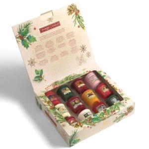yankee candle xmas votice gift box