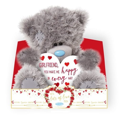 Me to You Girlfriend You Make Me Happy Bear