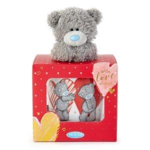Me to You Love Heart Mug & Teddy Gift Set