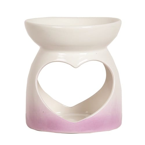 Wax Melt Burner - Pink Teardrop Burner