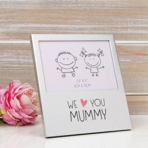 We Love You Mummy Aluminium Frame