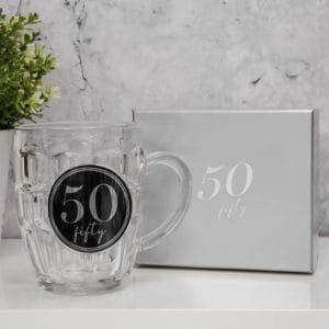 50th Birthday Beer Tankard