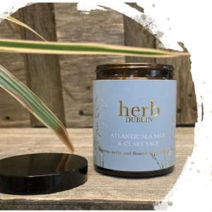 HERB Dublin Amber Jar Atlantic Seasalt