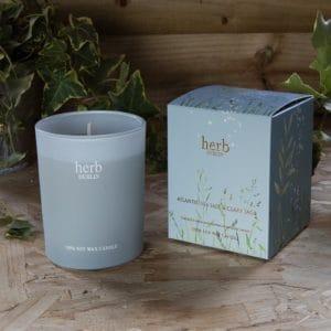 HERB Dublin Atlantic Seasalt Boxed Candle