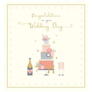 Congratulations On Your Wedding Day Card