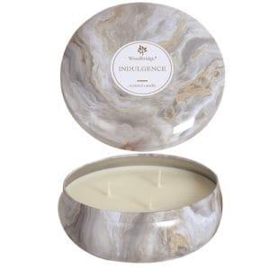 Woodbridge Indulgence Marble Candle Tin