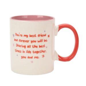 Cheerful Besties Mug back