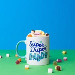 Super Duper Daddy Mug lifestyle