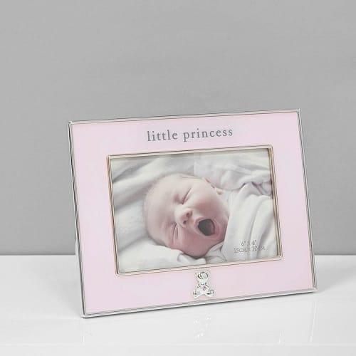Little princess baby frame pink